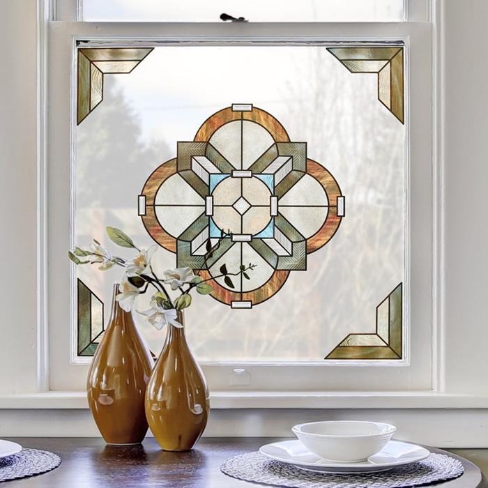 Newport Amber Decorative Window Accent  sc 1 st  Duncraft & Duncraft.com: Newport Amber Decorative Window Accent
