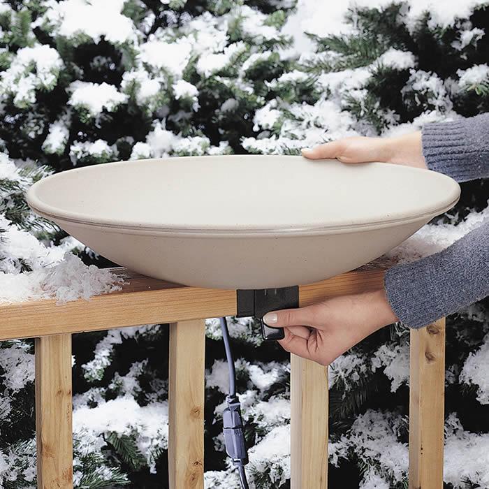 Duncraft Com All Seasons Heated Deck Bird Bath