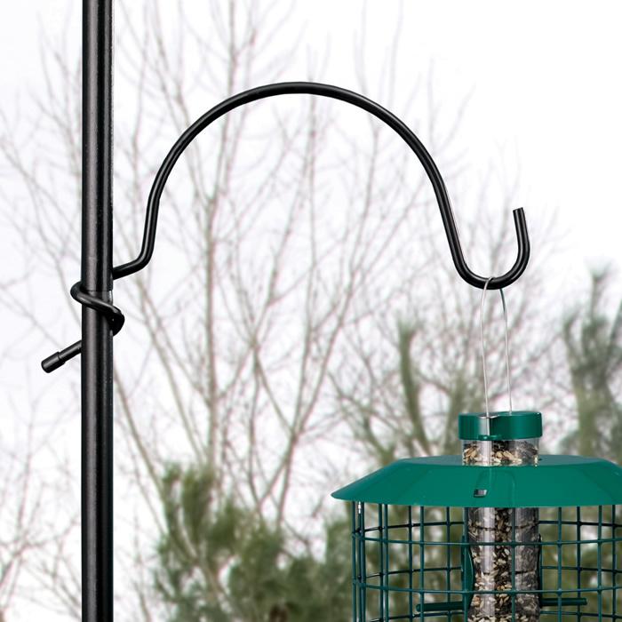 pin tall bird piece pole house heavy diameter duty feeder