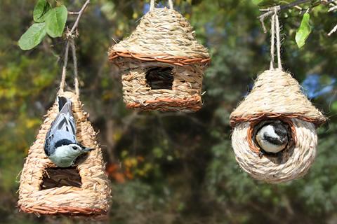 nesting huts set of 3. Black Bedroom Furniture Sets. Home Design Ideas