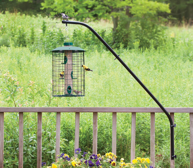 and heavy bird garden pole inspiring for styles bents feeder trends gardman duty u feed home