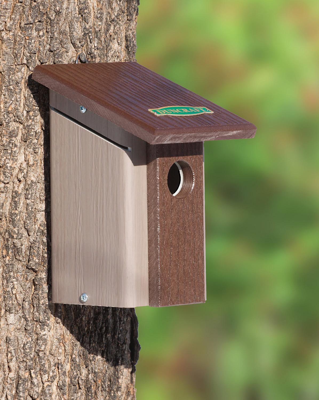How to make a bird house - Chickadee Nuthatch Bird House