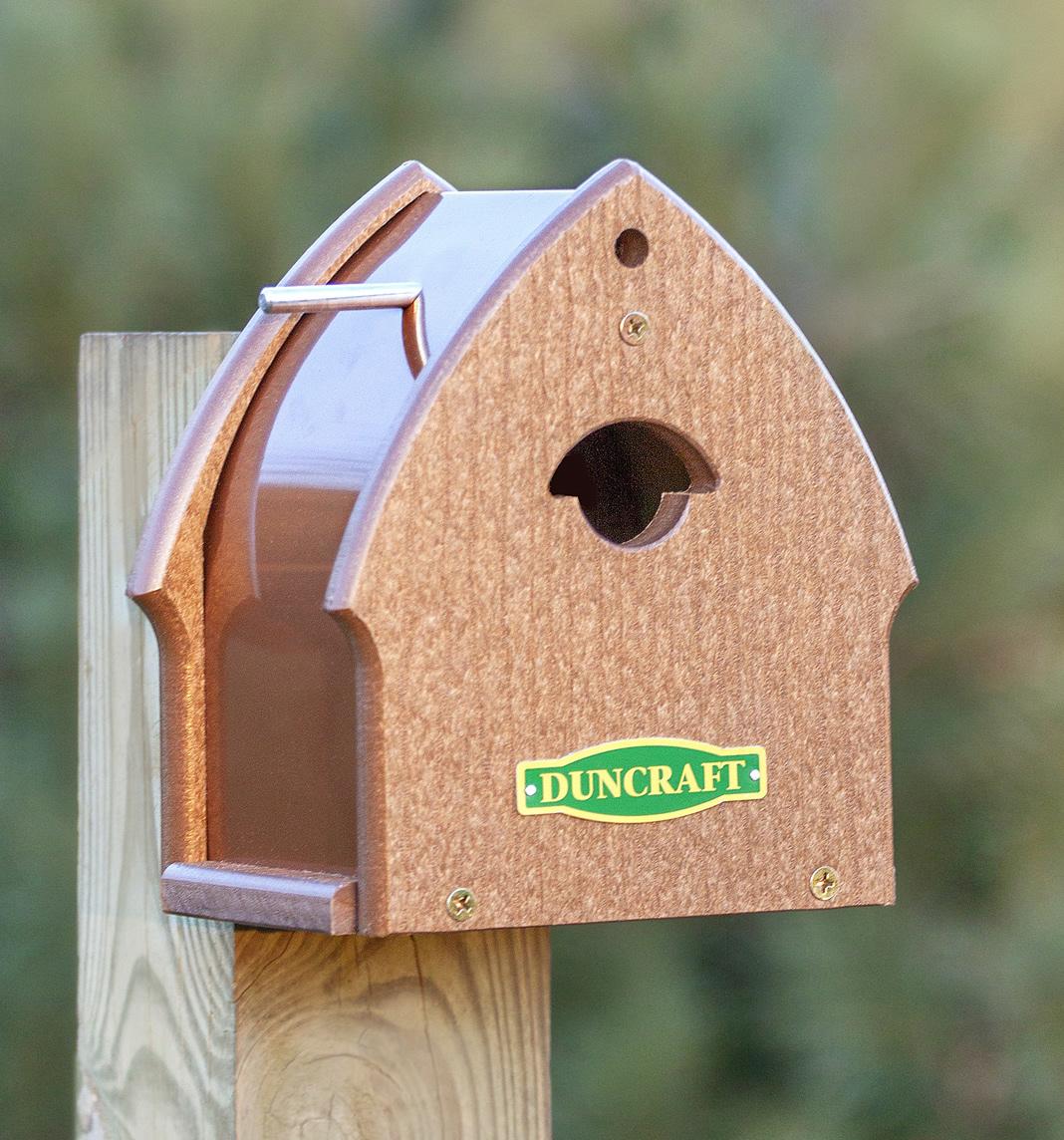Birdhouse Duncraftcom Duncraft The Chickadee Enterprise Bird House