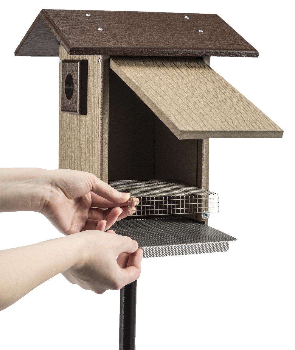 Duncraft Com Bird Safe Premium Bluebird House Amp Pole