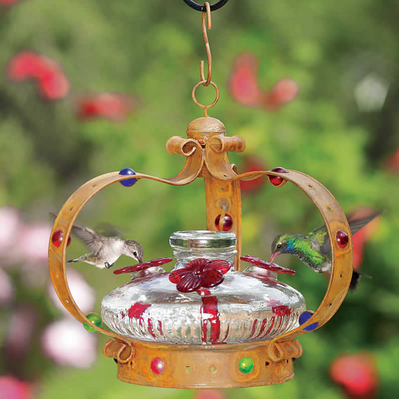 glass feeder img for green sale hummingbird p htm envy pagoda yard feeders