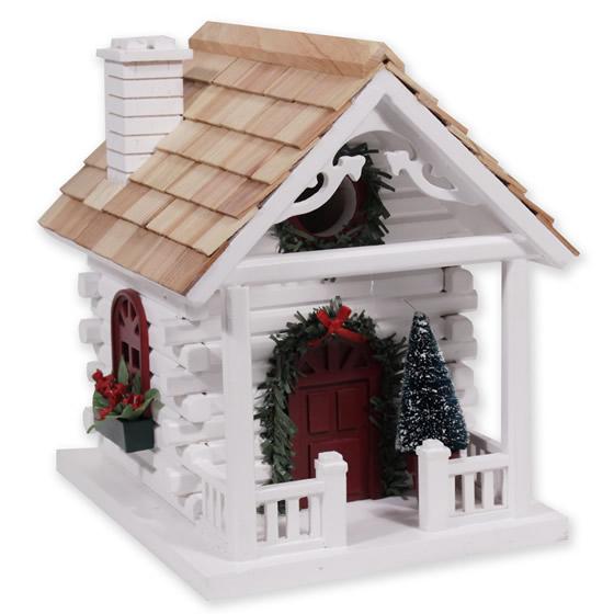 Duncraft.com: Christmas Cabin Bird House