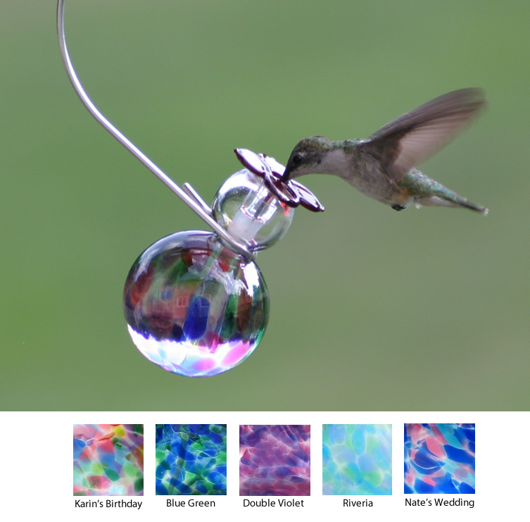 unique image glass sale hummingbird bird blown chic feeders full hand for feeder
