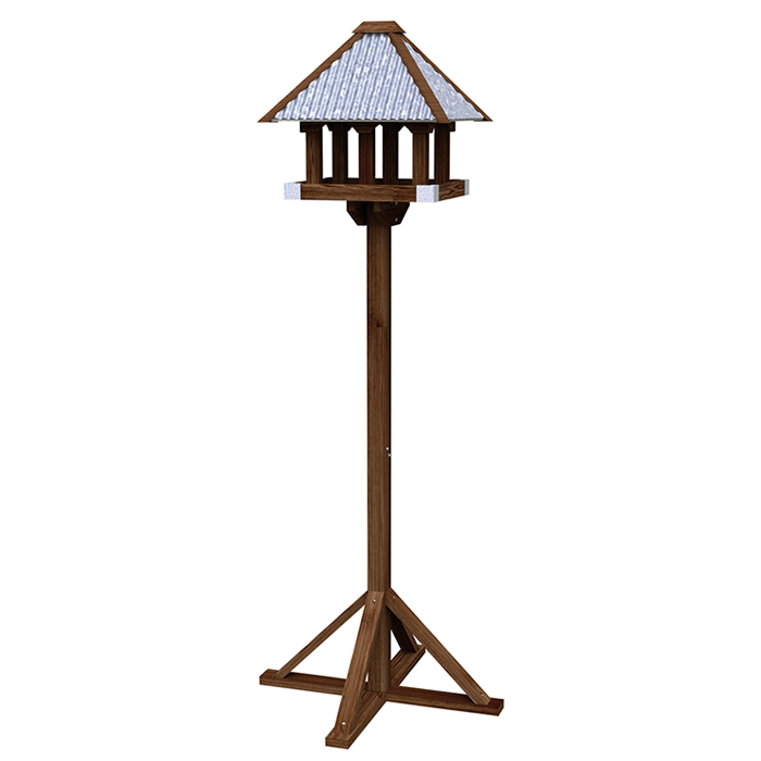 Rustic Farmhouse Bird Table Stand
