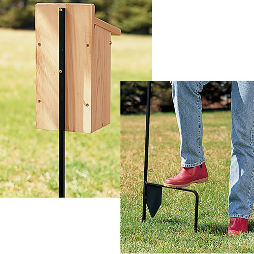 Birdhouse Mounting Pole