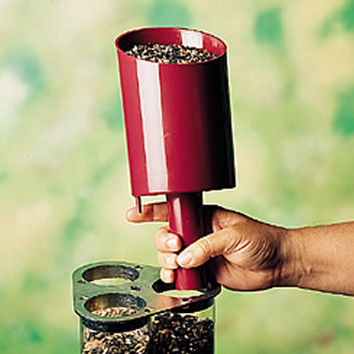 Bird Seed Scoop and Funnel
