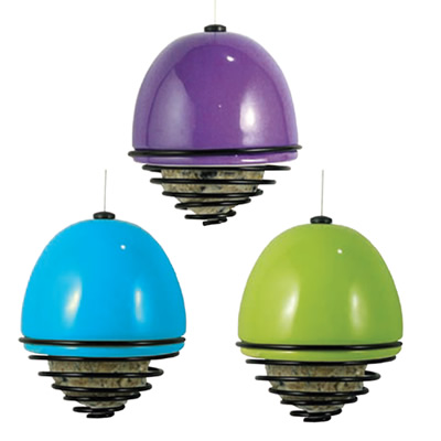 Ceramic Bell Ball Feeder, Set of 3