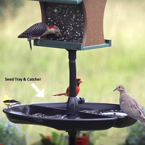 Wild Bird Seed Feeder Tray
