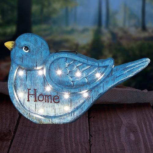 "10"" Solar Blue Bird LED Marquee (40% OFF)"