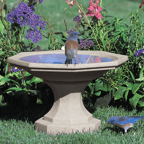 Newton Bird Bath, Sand
