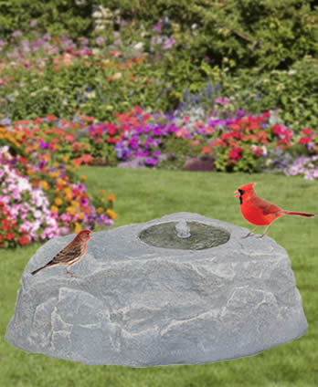 WaterStone Bird Fountain