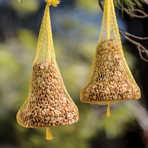 Peanut Bird Seed Bell