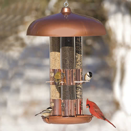 Triple Tube Bird Feeder (1341 Woodstream) photo
