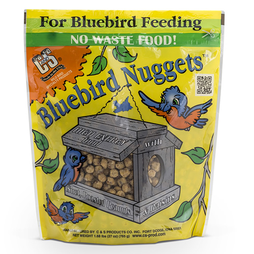 Bluebird Suet Nuggets - Set of 3