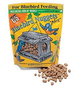 Bluebird Suet Nuggets, Set of 3