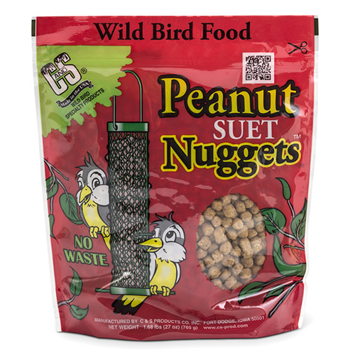 Peanut Suet Nuggets - Set of 3