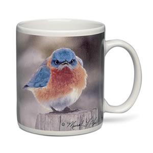 Mad Bluebird Mug