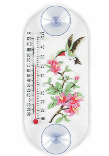 Hummingbird Thermometer