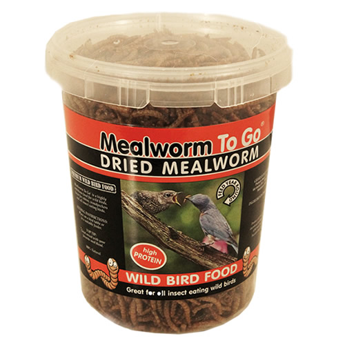 Dried Mealworms To Go 5.5 oz.