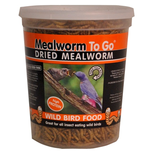Dried Mealworms To Go