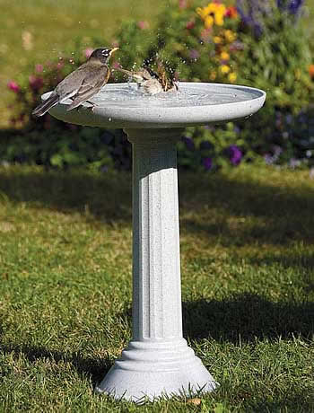 All Seasons Kozy Spa Bird Bath