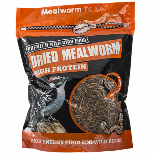 Dried Mealworms, 30 oz. Bag