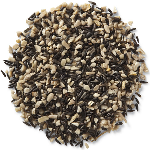 Premium Black and Gold Blend Bird Seed