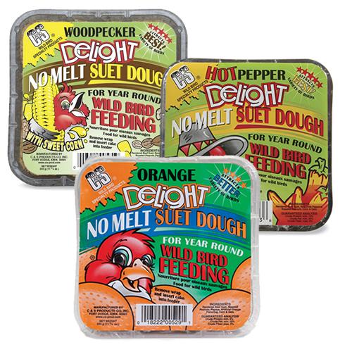 No Melt Suet Sampler (Set of 6)