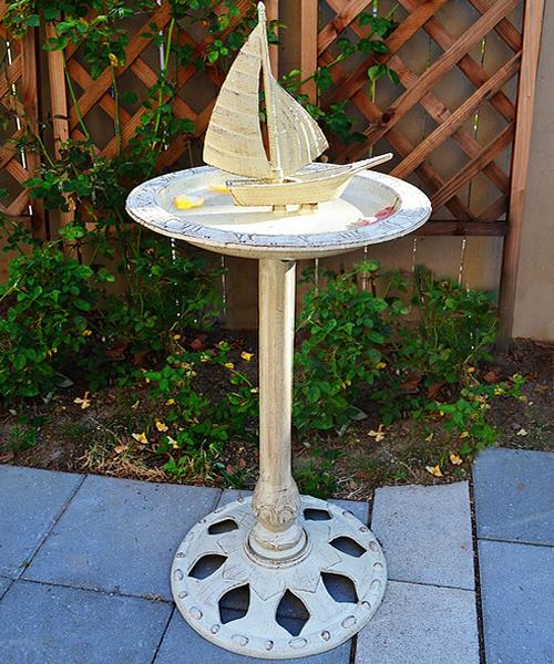 Sundial Birdbath
