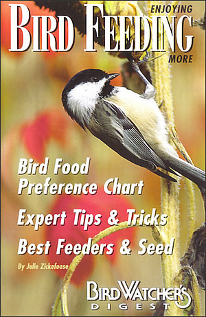 This book will enlighten any backyard bird-feeding enthusiast. It's filled with practical tips---everything from suet to nuts. Author Julie Zickefoose shares her secrets for setting up a feeding station that will bring your yard to life. 32-page, full-color booklet.