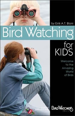 "How can you get a young person to pick up binoculars? Get them this brand new colorful booklet! With fresh content that taps their imagination and directs it toward the fascinating world of birds, Bird Watching for Kids speaks to them in their terms. Identification cues, equipment tips, backyard projects, ""awesome"" facts, they're all right here. This booklet can help you set a young birder on the right path, so get one today!"