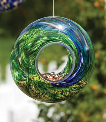 Duncraft Com Glass Circle Bird Feeders