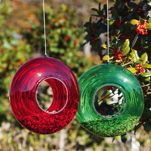 Blooms Circle Bird Feeder