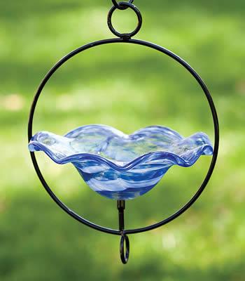 Swirl Hanging Birdbath
