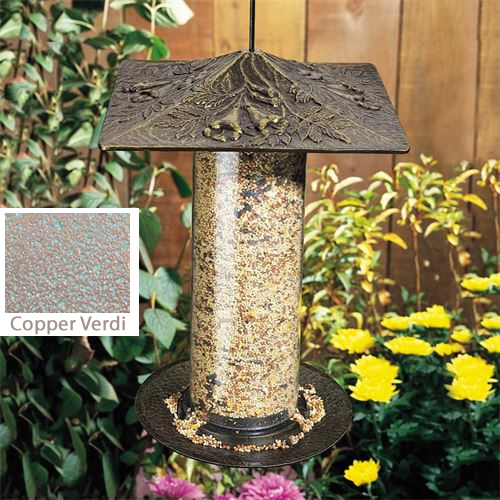 Trumpet Vine Tube Bird Feeder