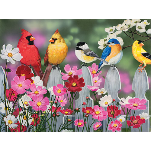 Songbirds and Cosmos Puzzle - 500 pcs.
