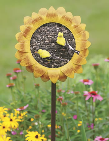 Sunflower Garden Feeder