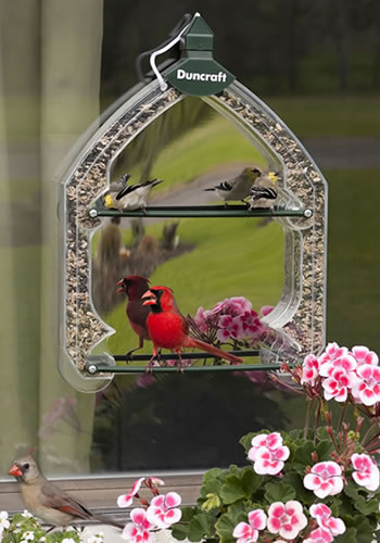 One Way Mirror Window Feeder