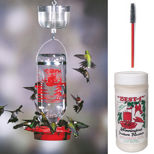 Best 1 Hummingbird Feeder 32 oz. Gift Pack Kit