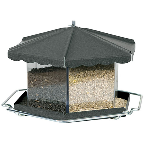 Triple Bin Party Feeder - Oil Rubbed Bronze