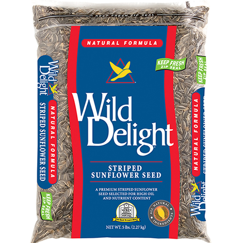 Wild Delight Striped Sunflower Seeds - 5 lbs.