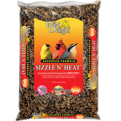 Wild Delight Sizzle N Heat Bird Seed - 14 lbs.