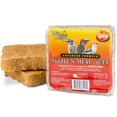 Wild Delight Sizzle N Heat Suet Cakes