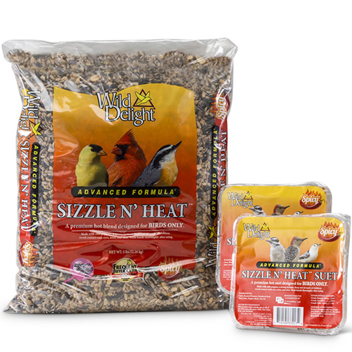 Wild Delight Sizzle N Heat Seed and Suet Set
