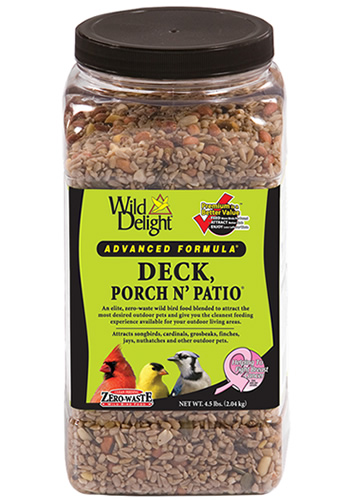 Deck - Porch N Patio Bird Seed Jar