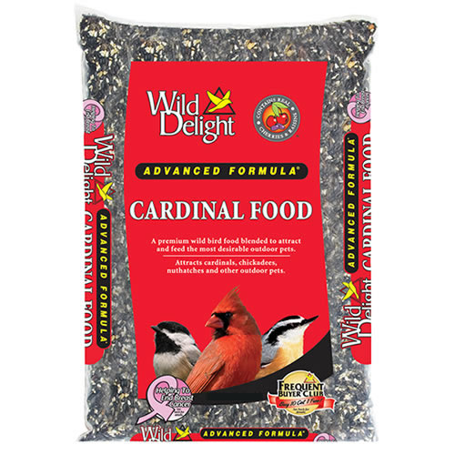Wild Delight Cardinal Bird Seed - 7 or 15 lbs.